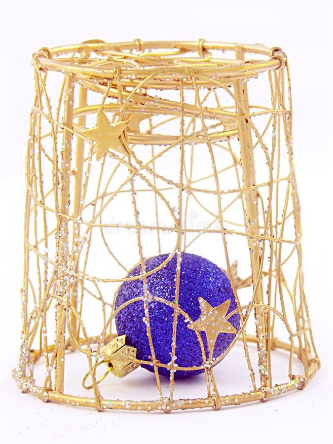 заеданное рождество шарика Стоковые Фото