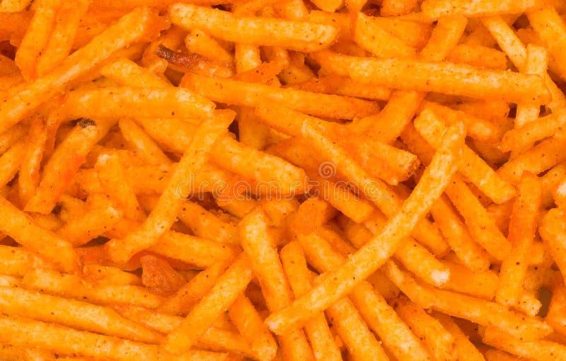 заедк картошки паприки стоковая фотография