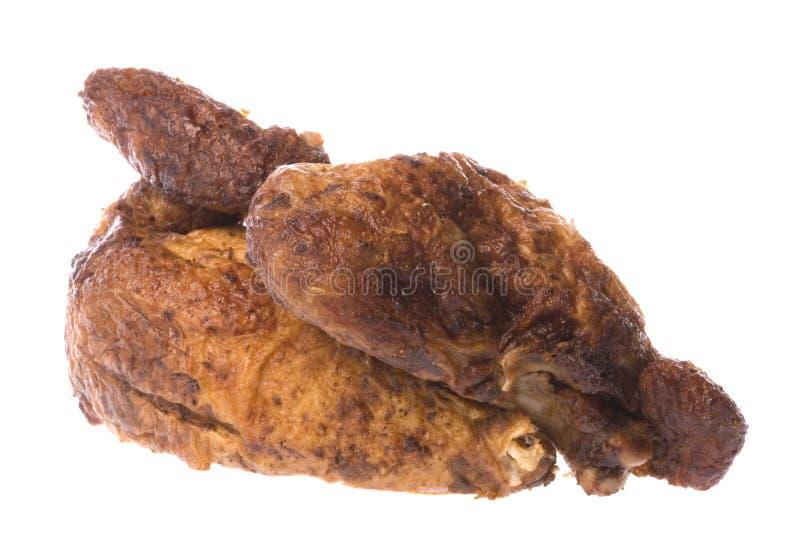 Download зажаренная в духовке половина цыпленка Стоковое Изображение - изображение насчитывающей еда, ресторан: 6867089
