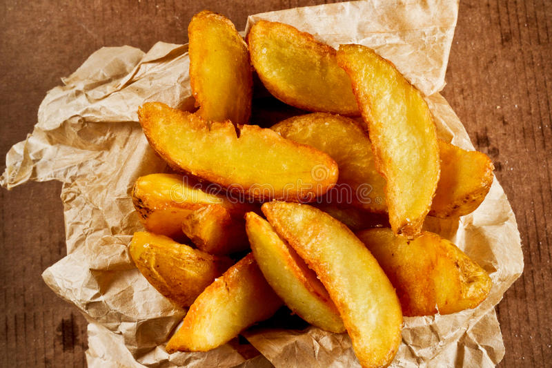 Download Зажаренная картошка стоковое фото. изображение насчитывающей baggies - 37927428