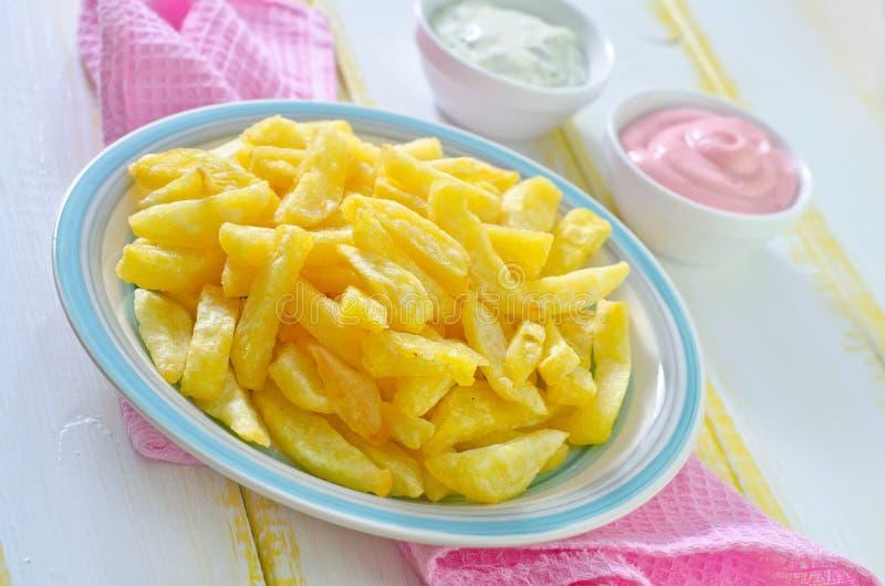 Download зажаренная картошка стоковое фото. изображение насчитывающей картошка - 41660058