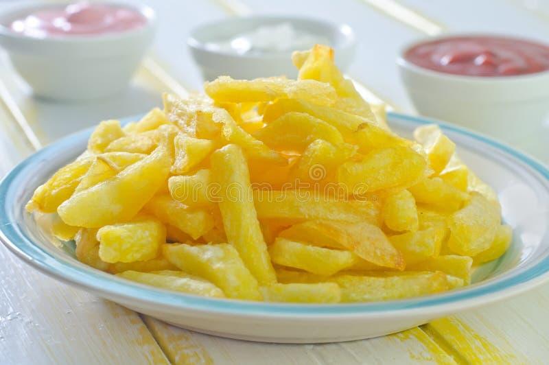 Download зажаренная картошка стоковое фото. изображение насчитывающей картошки - 41660068