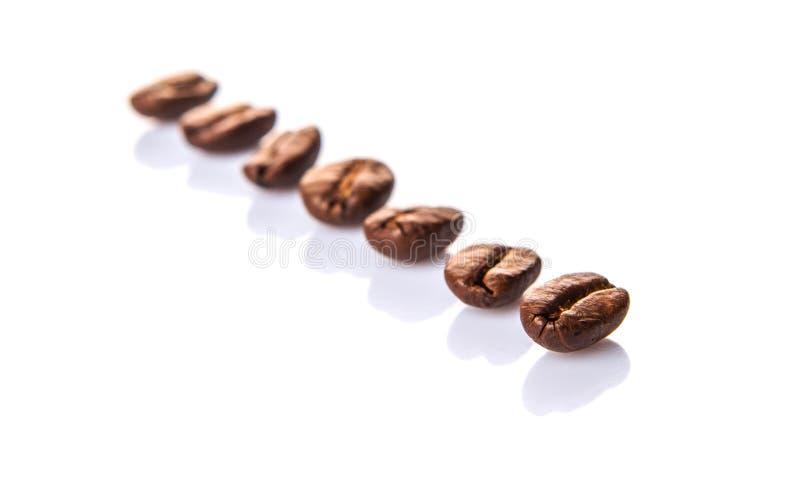 Зажаренное в духовке кофейное зерно III стоковое изображение rf