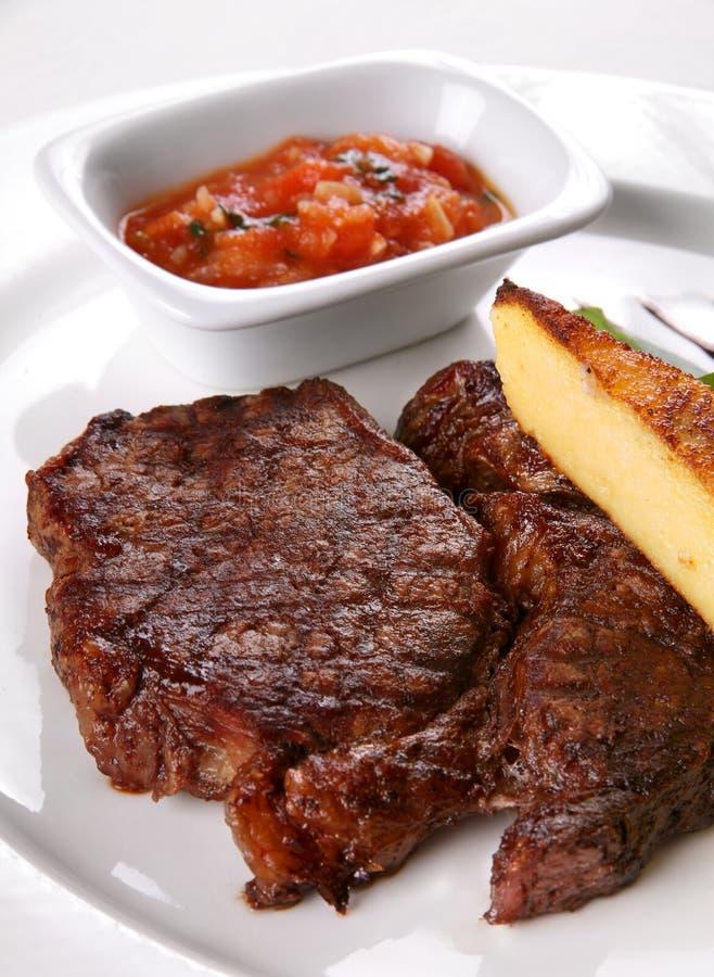 зажаренное мясо стоковое фото