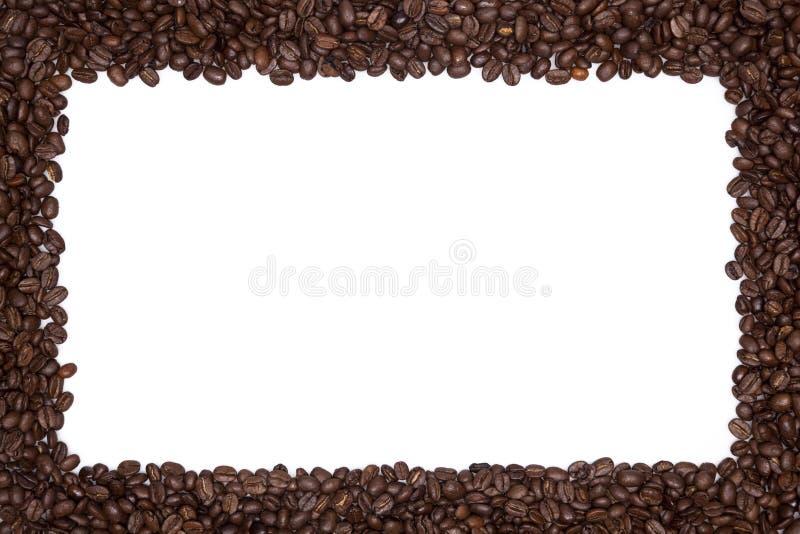 зажаренный в духовке кофе граници фасолей стоковое фото rf