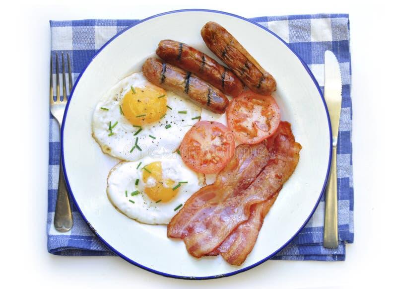 Download Зажаренный завтрак стоковое изображение. изображение насчитывающей жиреть - 37928907