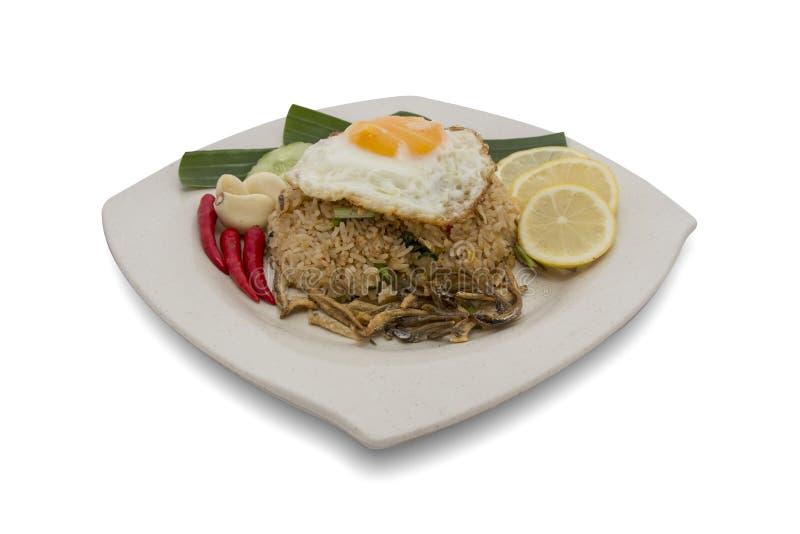 зажаренный малайзийский рис стоковое фото