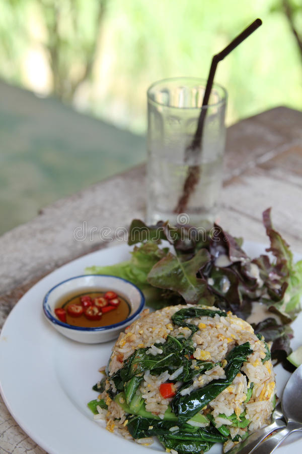 зажаренный рис тайский стоковые изображения rf