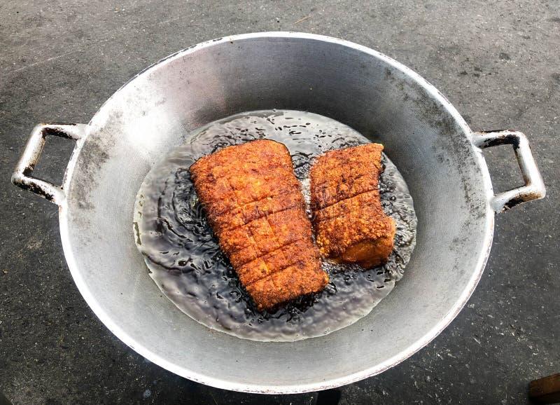 Зажаренный свинина стоковое фото