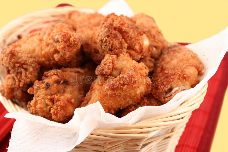 зажаренный цыпленок 2 стоковое изображение
