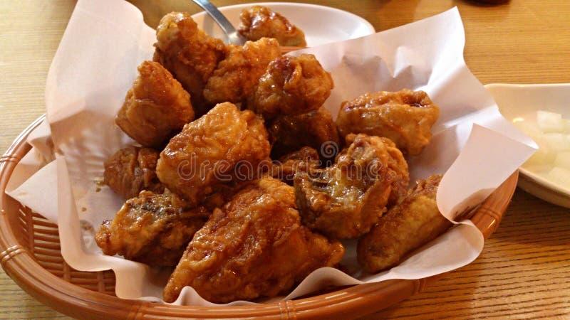 зажаренный цыпленок