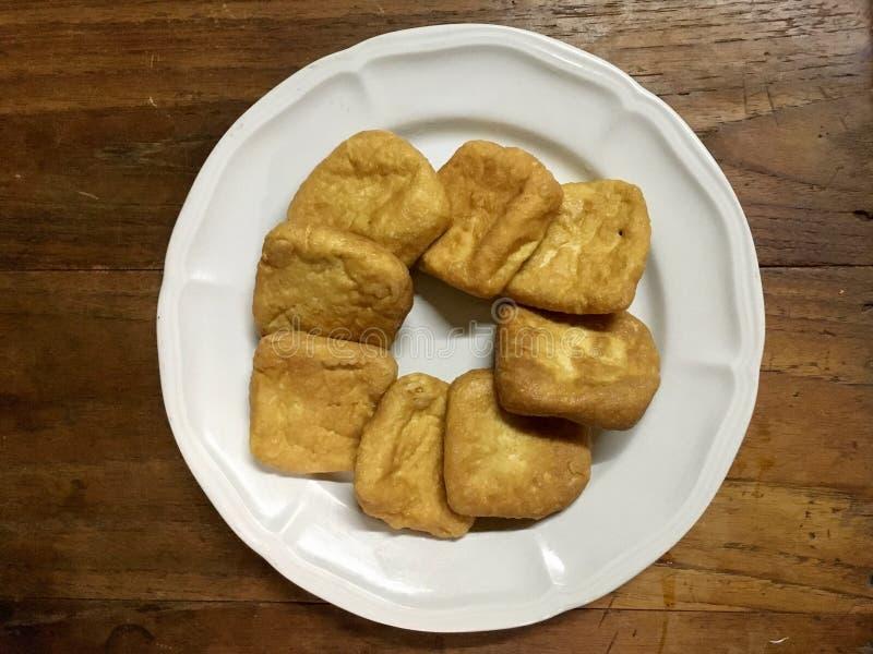 зажаренный tofu стоковые фото