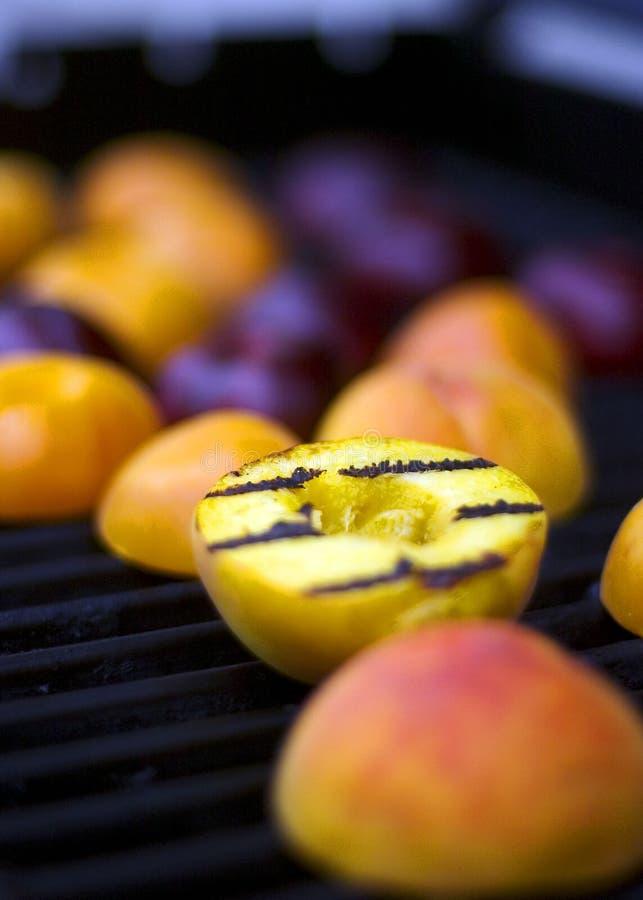 зажженный персик стоковые фотографии rf