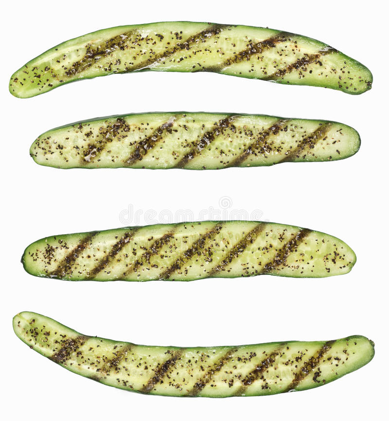 зажженный zucchini стоковое изображение