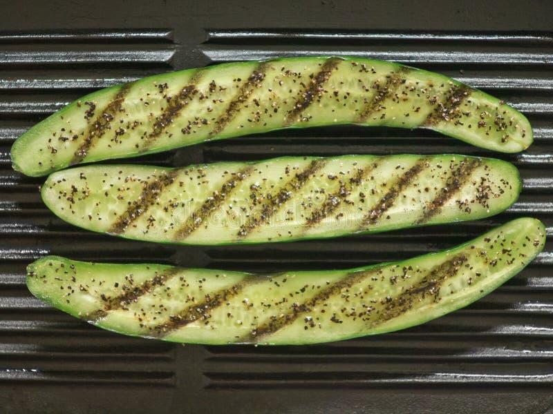 зажженный zucchini стоковые изображения
