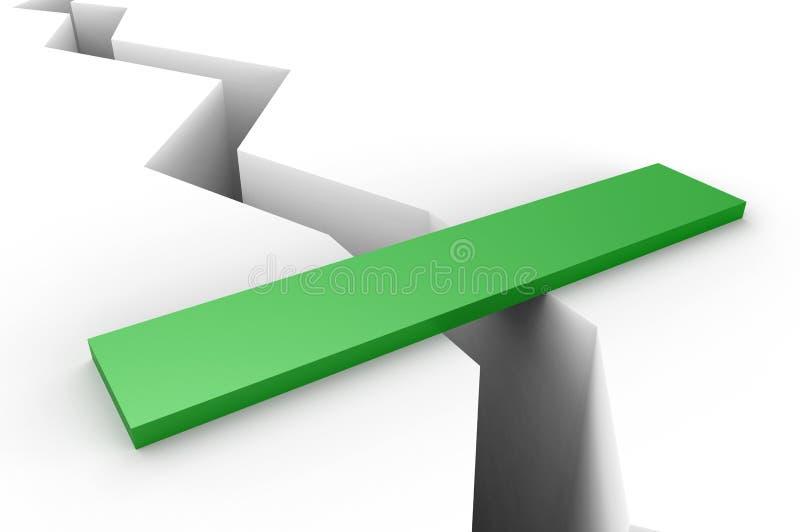 зазор моста иллюстрация штока