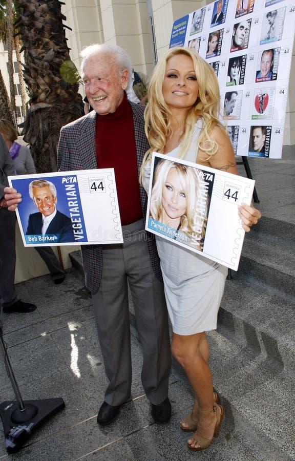 Зазывала Bob и Памела Андерсон стоковые фотографии rf