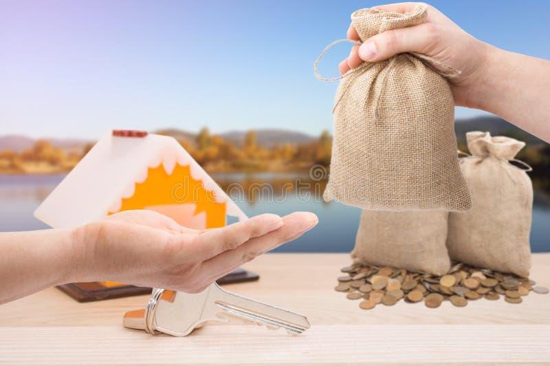 Займы продажи и арендуемых собственностей стоковое изображение rf