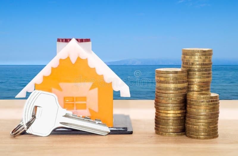 Займы продажи и арендуемых собственностей стоковые изображения rf