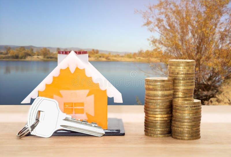 Займы продажи и арендуемых собственностей стоковое фото rf