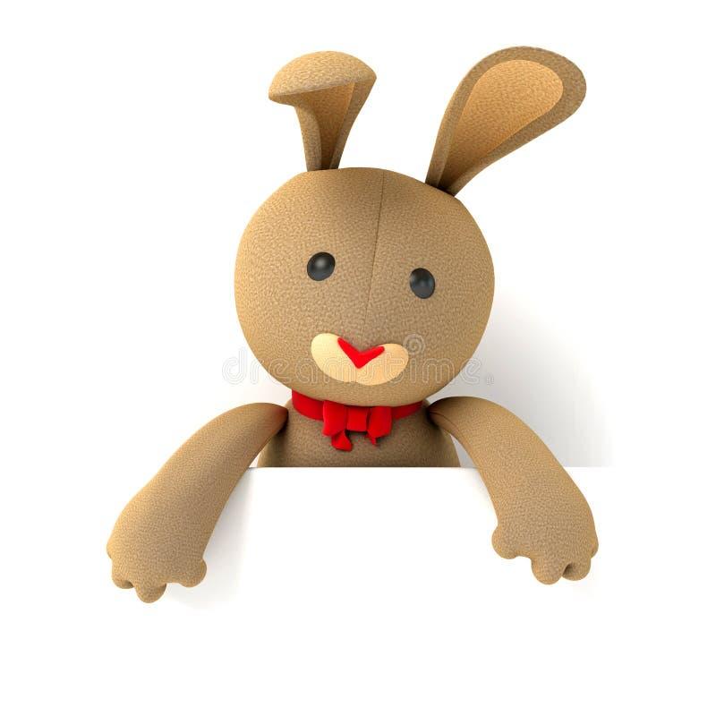 Зайчик игрушечного игрушки бесплатная иллюстрация