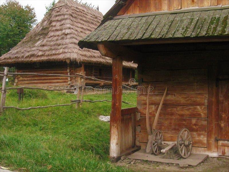 Закарпатский музей фольклорных архитектуры и жизни стоковое фото