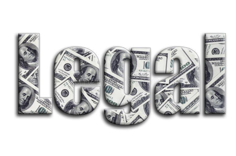 законно Надпись имеет текстуру фотографии, которая показывает много счеты доллара США бесплатная иллюстрация