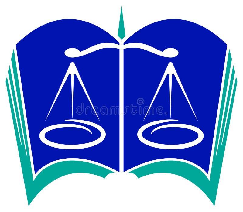 Законный логос иллюстрация вектора