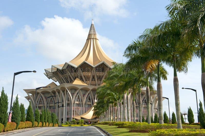 Законодательная ассамблея государства Саравака стоковое фото rf