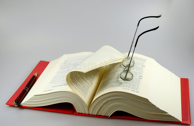 закон книги стоковая фотография