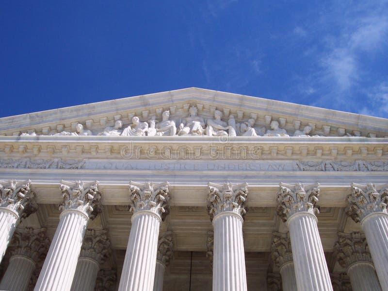 закон равного правосудия вниз стоковое изображение rf