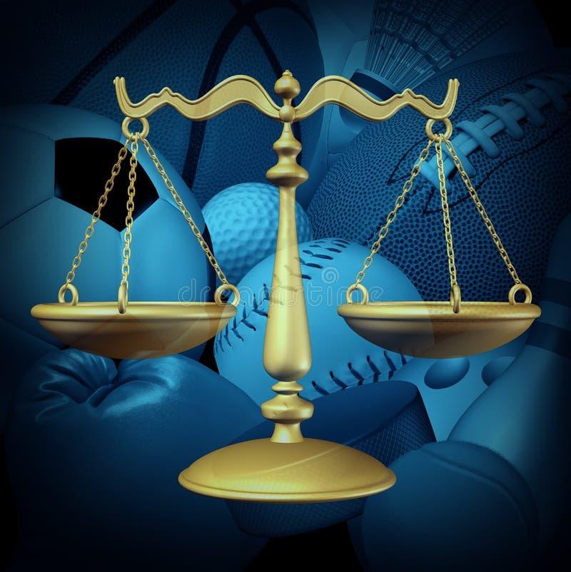 Закон спорт бесплатная иллюстрация