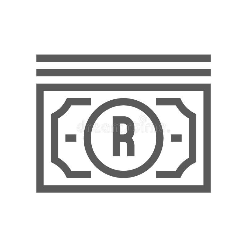 Закон цифров, линия значок вектора авторского права плоская Editable ход пиксел 48x48 совершенный бесплатная иллюстрация