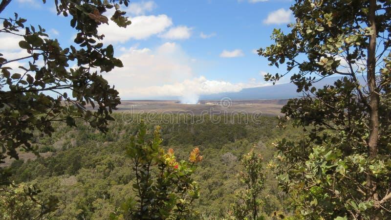 Закоптелое Kilauea стоковая фотография