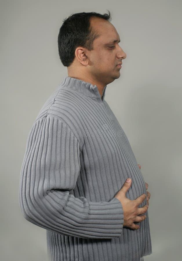 закопченный профиль стоковое фото rf