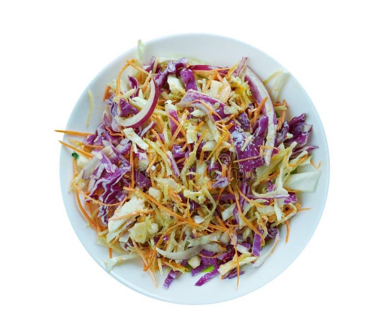 Закоренелый coleslaw стоковые изображения rf