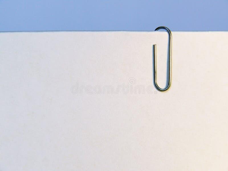 закрепите бумагу стоковое фото rf