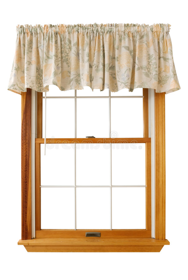 закрепляя изолированное окно путя стоковые фото