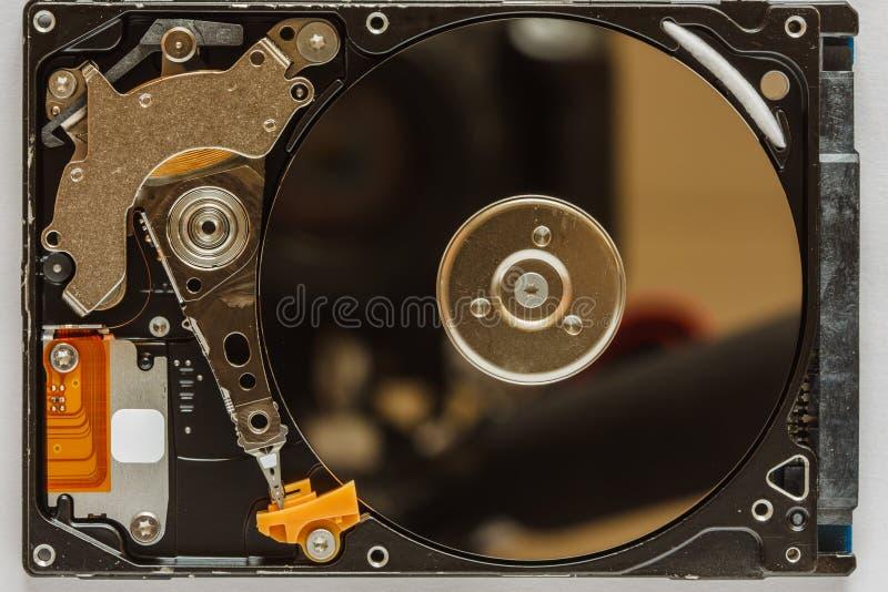 Закройте вверх жёсткого диска стоковое изображение rf