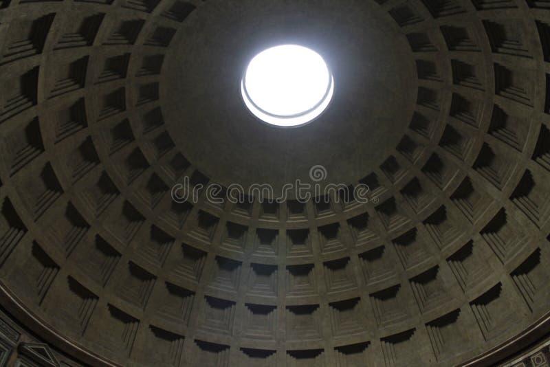 Закройте вверх крыши пантеона стоковое фото rf