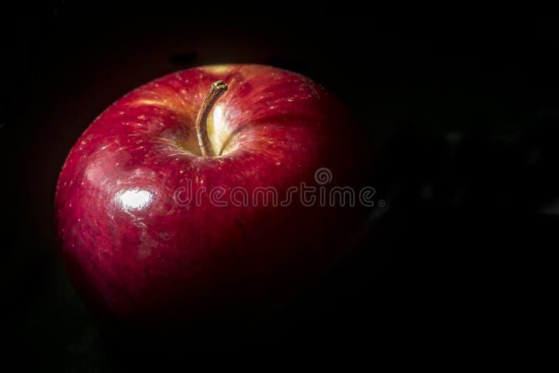 Закройте вверх макрос яблока стоковое фото rf