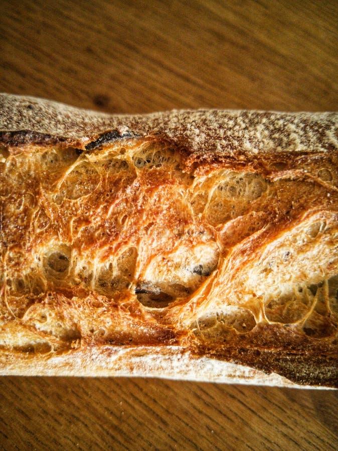 Закройте вверх от домодельного хлеба стоковая фотография