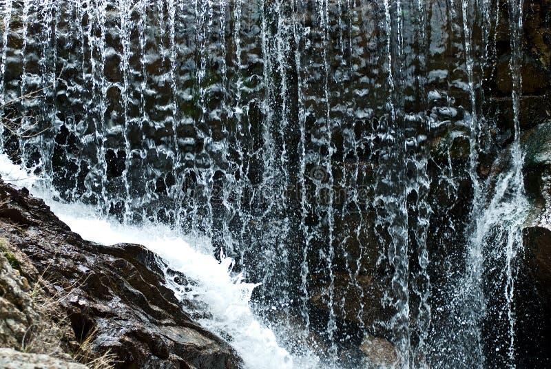 закройте вверх по водопаду стоковые фотографии rf