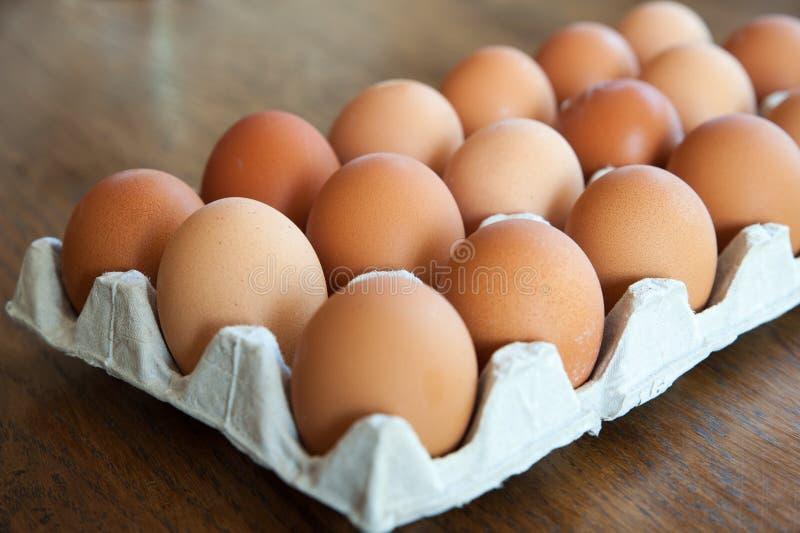 Закройте вверх по изображению яичек с малой глубиной поля на кухне стоковое фото rf