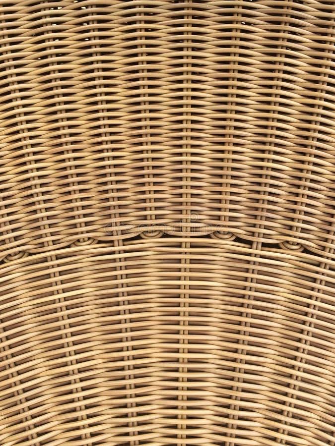 закройте вверх по красивой текстуре ремесла ротанга стоковая фотография