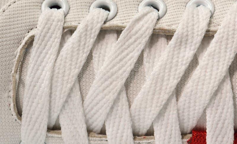 Закройте вверх по шнурку стоковое изображение rf
