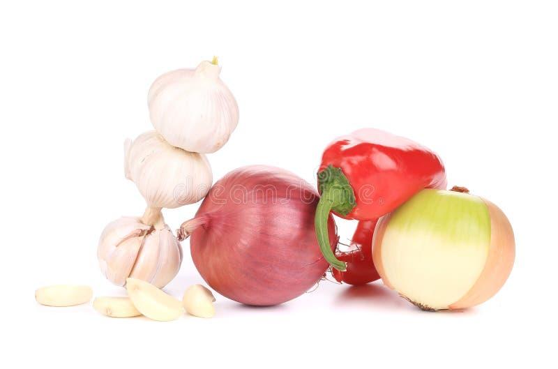 Закройте вверх свежих овощей стоковое фото