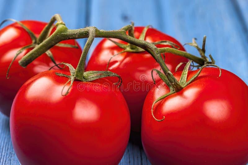 Закройте вверх свежих томатов стоковое изображение rf