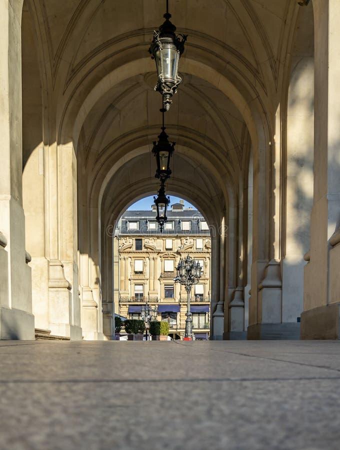 Закройте вверх старого оперного театра в Франкфурте в Германии стоковая фотография