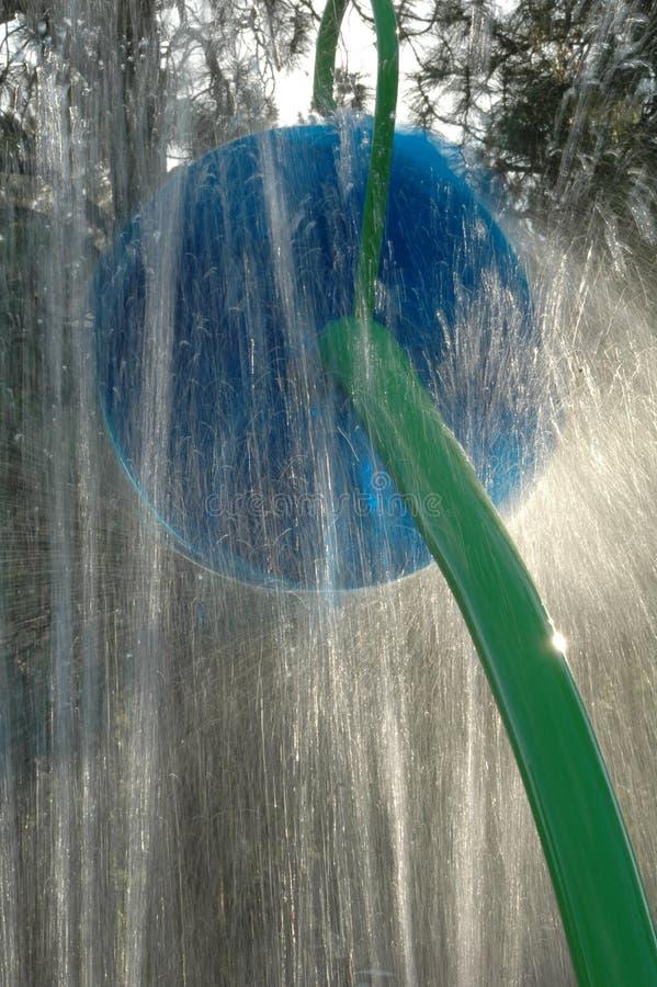 Закручивая игрушка воды на парке Spokane стоковые изображения